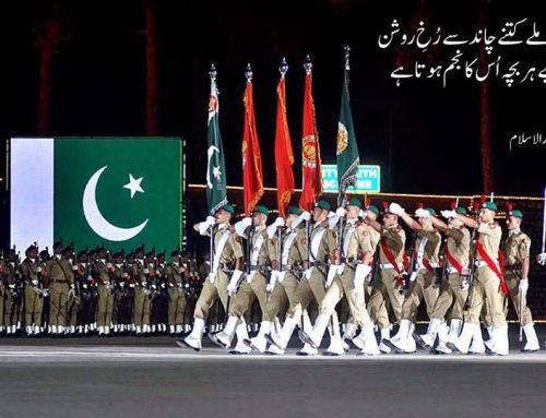 سبز ہلالی پرچم ہماری جان ہے، ہماری شان ہے اور ہماری پہچان ہے