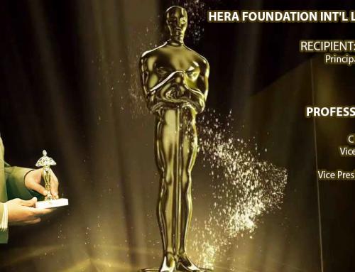 Mian Waqar ul Islam to Receive Award From Hera Foundation