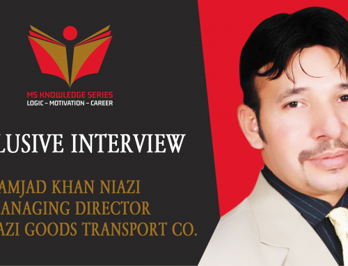EXCLUSIVE INTERVIEW – AMJAD KHAN NIAZI