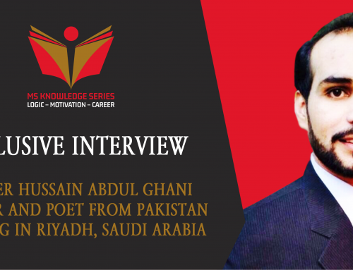 EXCLUSIVE INTERVIEW – MAZHER HUSSAIN ABDUL GHANI
