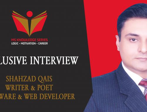 EXCLUSIVE INTERVIEW – SHAHZAD QAIS