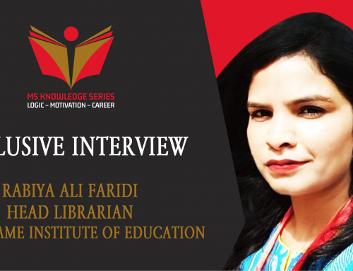 EXCLUSIVE INTERVIEW – RABIYA ALI FARIDI