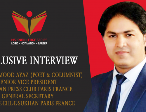 EXCLUSIVE INTERVIEW – AYAZ MAHMOOD AYAZ