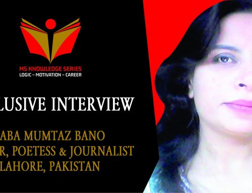 EXCLUSIVE INTERVIEW – SABA MUMTAZ BANO