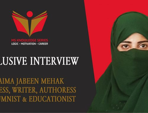 EXCLUSIVE INTERVIEW – SAIMA JABEEN MEHAK