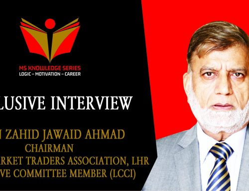 EXCLUSIVE INTERVIEW – MIAN ZAHID JAWAID AHMAD