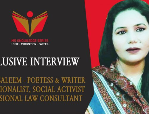 EXCLUSIVE INTERVIEW – SAFINA SALEEM
