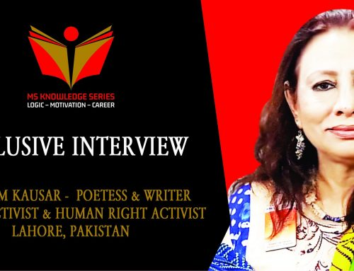 EXCLUSIVE INTERVIEW – TASNEEM KAUSAR