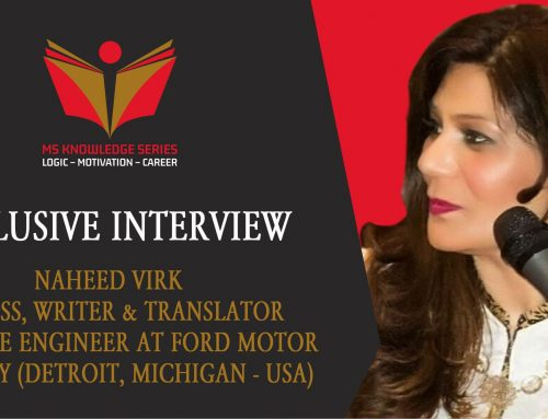 EXCLUSIVE INTERVIEW – NAHEED VIRK