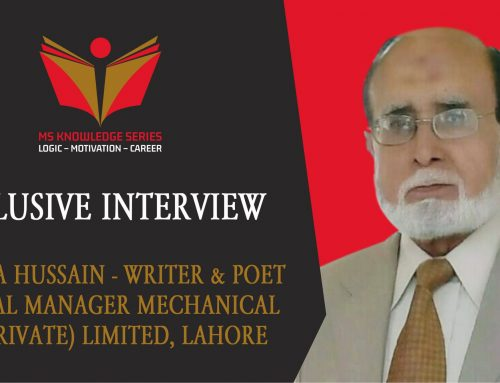 EXCLUSIVE INTERVIEW – SYED ZIA HUSSAIN